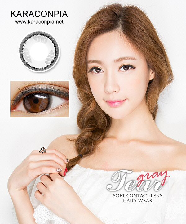 ティアーグレー(Tear Gray) DIA 14.0mm (A164)