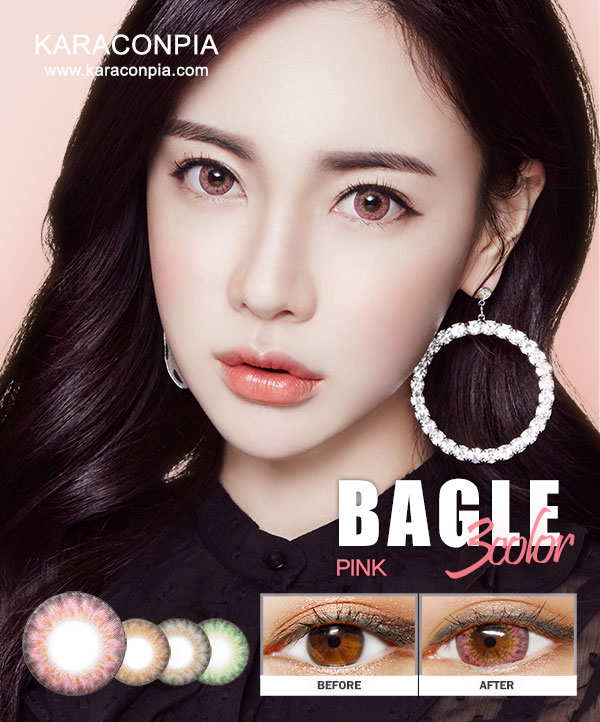 (CRAZY SALE III) ベーグルスリーカラーピンク (Bagle 3 color Pink) DIA 14.0mm (B014)