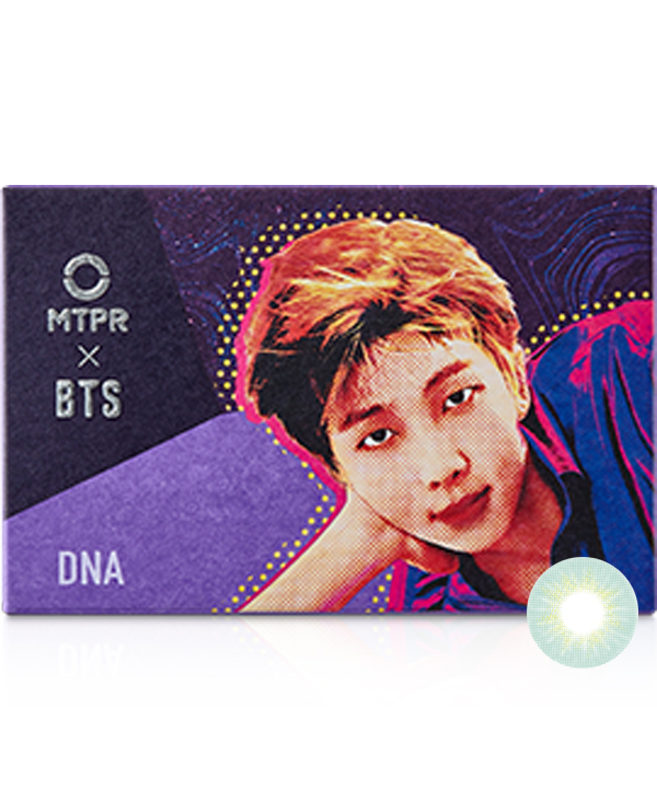 [CLOSE][1ヶ月] BTS DNA デスティニー マンスリー (BTS DNA 1MONTH DESTINY LIGHTBLUE) DIA 14.0mm [1箱2枚]