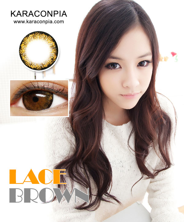 レースブラウン (Lace Brown) DIA 14.3mm (A031)