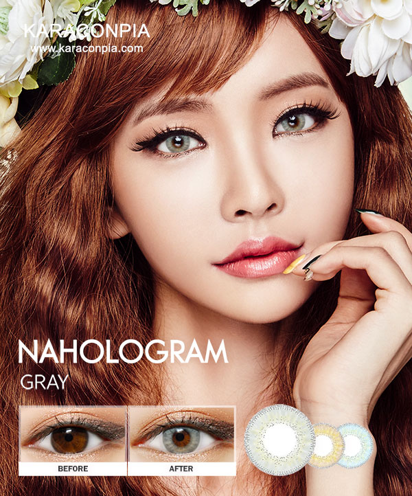 [CLOSE][500円SALE] NAホログラム3カラーグレー (NA Hologram 3color Gray) DIA 14.0mm
