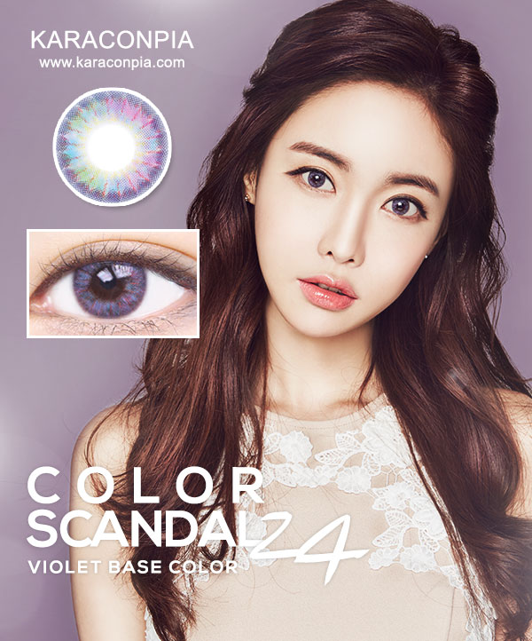 (SCANDAL1+1) カラースキャンダル24 バイオレット (Color Scandal 24 Violet) DIA 14.5mm (期間限定1+1)