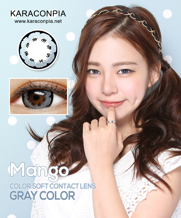 (CRAZY SALE III)マンゴ グレー (MANGO Gray) DIA 14.0mm (A010)