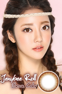 (CRAZY SALE II) ジェニービーロールブラウン (Jennybee roll Brown) DIA 14.0mm (A141)