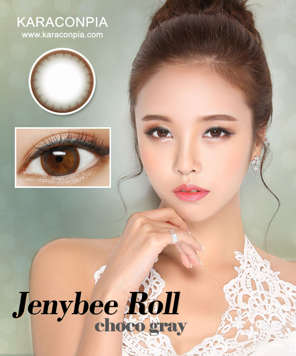 (CRAZY SALE III)ジェニービーロールチョコグレー (Jennybee roll Chacole Gray) DIA 14.0mm (A147)