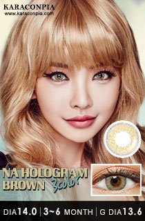 NAホログラムスリーカラー ブラウン (NA Hologram 3 Color Brown) DIA 14.0mm